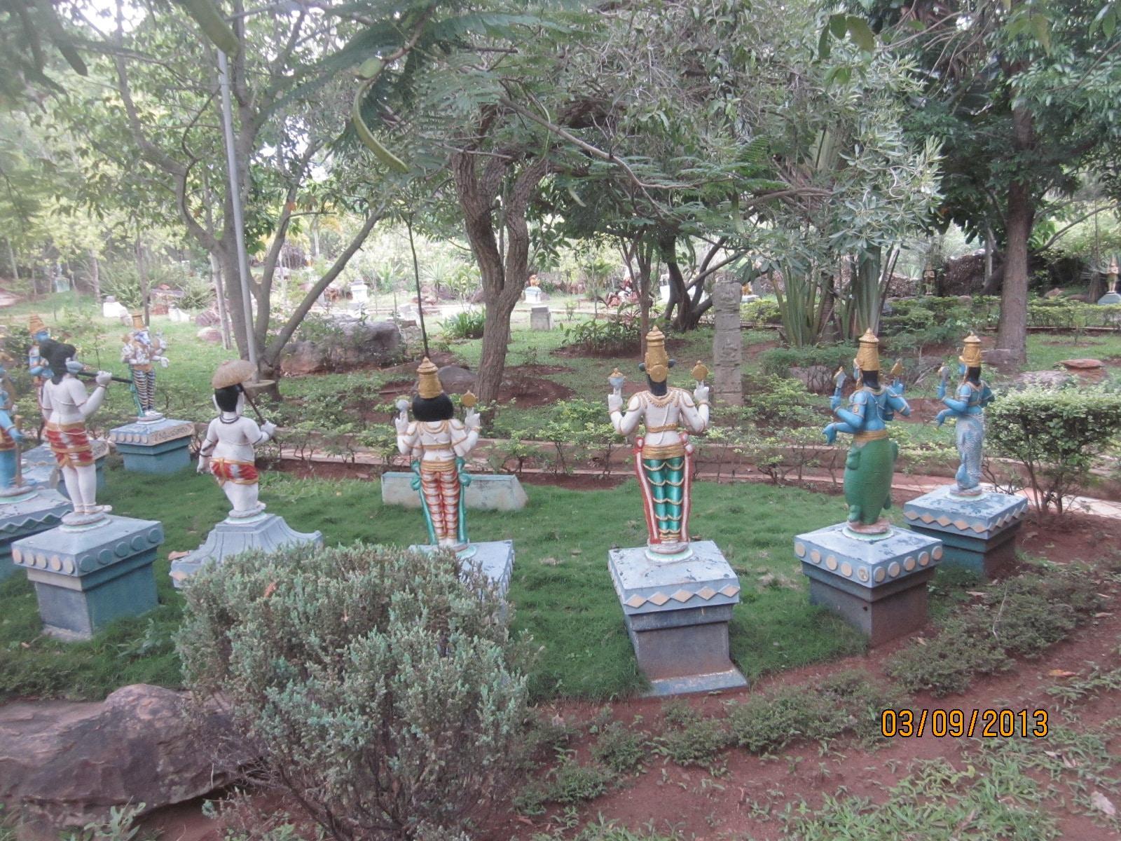 Tirumala Garden near Silathoranam